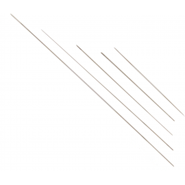 Paquete de 5 agujas para abalaorios de acero inoxidable, tamaños de 80 a 120 mm