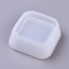 Molde de silicone de Mini Maceta en forma cuadrada