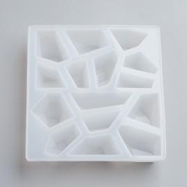 Molde de silicone de Piedras para trabajar con resina y/o encapsulado.