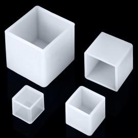 Paquete de 6 moldes de silicone en forma de Cubos