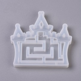 Moldes de silicones de Laberinto de Castillo para encapsulado