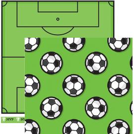 "Cartulinas ""futbol"" de AC, tamaño 12x12"""
