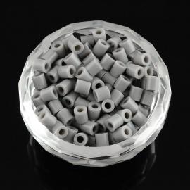 Paquete abalorios de calor Gris, 5mm