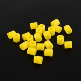Paquete abalorios de calor Amarillo Huevo, 5mm