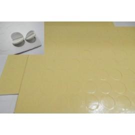 Adhesivo doble capa con foam