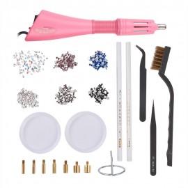 Kit básico de cristales de calor para tela
