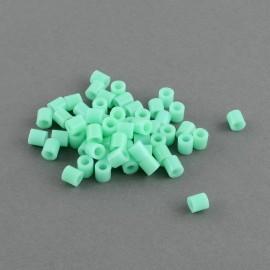Paquete abalorios de calor Aquamarine Light, 5mm