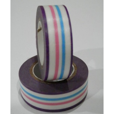 "Cinta adhesiva decorada ""Washi Tape"""