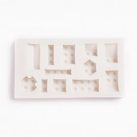 Molde Silicone de Silicone Piezas de LEGO
