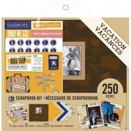 """Album de fotos Kit Vacaciones de K& Company. Tamaño 8x8"""""""