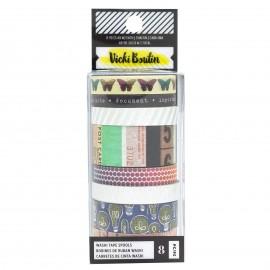 Washi tape COLOR KALEIDOSCOPE de Vicky Bouton