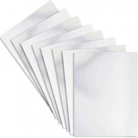 Paquete de cartulinas de Acabo Espejo Plateado