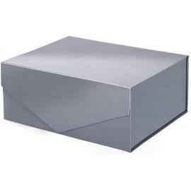 Caja organizadora de plastico color gris