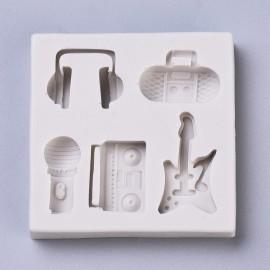 Molde silicone de Instrumentos Musicales