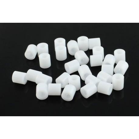 Abalorios de calor blancos de 5 mm