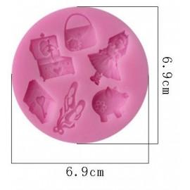 Molde silicone