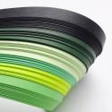 Papel para filigrana en tonos verdes 10 mm