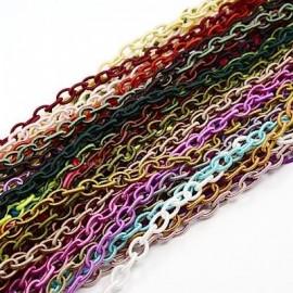 Pulsera de cordón imitación cuero en trenza
