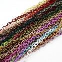 Cadena de nylon en colores variados