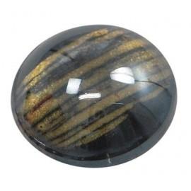 Cabochon de Vidrio Pintado, tamaño 30 mm