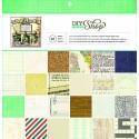 """Block cartulina estampada """"Diy Shop"""" de American Crafts"""