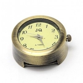 Caratula de reloj color bronce antiguo