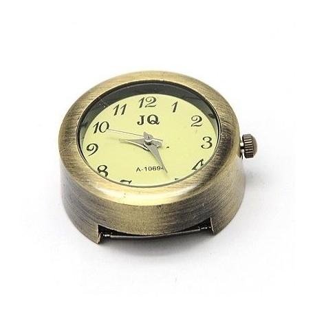 Caratula de reloj color bronce antiguo
