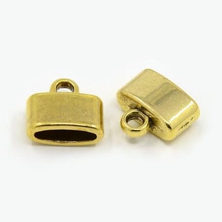 Tapa nudos color oro antiguo