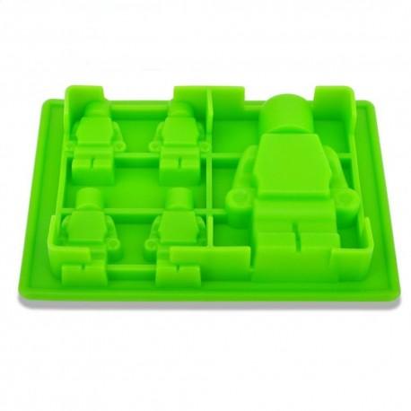 "Molde silicone ""Lego"""