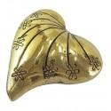 Paquete Separadores de Corazón color oro antiguo