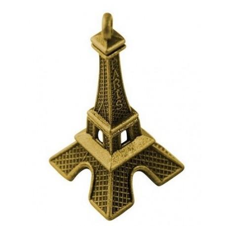Paquete de dijes con diseño de Torre Eiffel