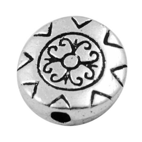 Separador en color plata antigua