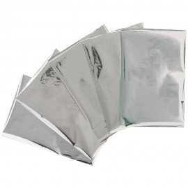 Paquete de 30 láminas de foil Dorado, tamaño 4x6