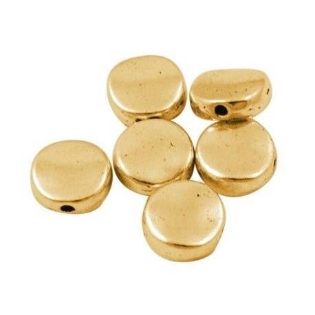 Separador en color oro antiguo