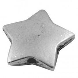 Separador de estrella en color plata antigua