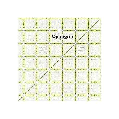 Regla acrilica 91/2 x 9 1/2 de Omnigrid