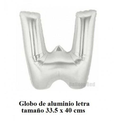 """Globo de Aluminio letra """"V"""""""