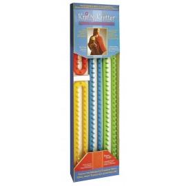 Telares para confeccionar Cordones de knifty knitter