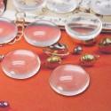 Cabochon de vidrio de 15mm