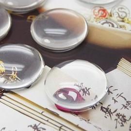 Cabochon de vidrio de 20mm