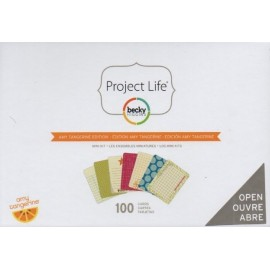 Kit Amy Tangerine de Project Life