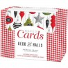 tarjetas y sobres Deck the Halls