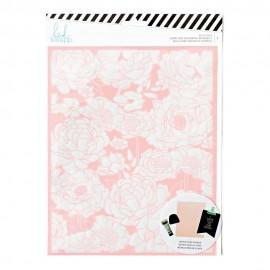"""Malla para serigrafia Artística """"Floral"""" de Heidi Swapp"""