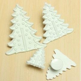cortador de galleta de arbol de navidad