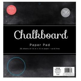 """Block de Cartulina """"Chalkboard"""" de DCWV, 12x12"""""""