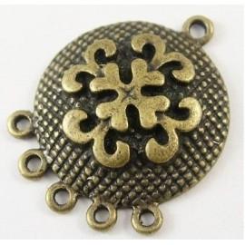 Paquete Uniones en color bronce antiquo