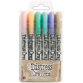 Crayones colores Pasteles de Distress