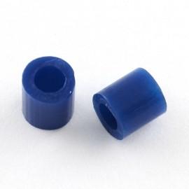 Paquete de mini abalorios de calor 3x2.6 mm Azul Oscuro