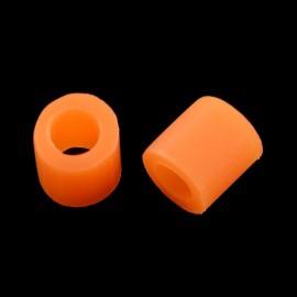 Paquete de mini abalorios de calor 3x2.5 mm Naranja