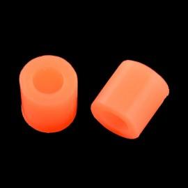 Paquete de mini abalorios de calor 3x2.6 mm Naranja Neon